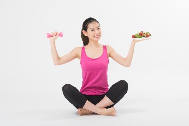 運動と食事コントロール