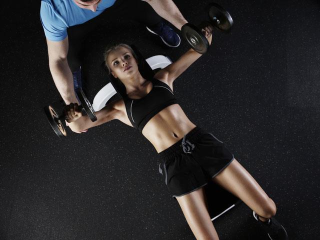 筋力をつけるトレーニングイメージ