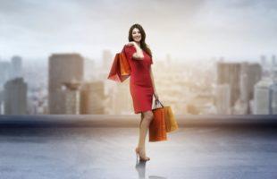 似合う服を購入するイメージ
