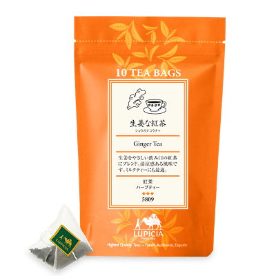 生姜な紅茶 パッケージ