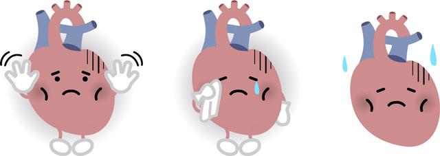 調子の悪い心臓